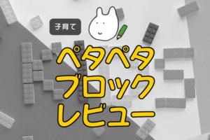 ペタペタブロックレビュー記事アイキャッチ画像