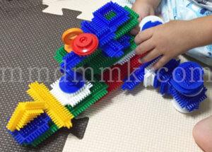 ペタペタブロックの製作例の写真