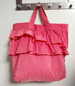 0歳児の保育園バッグの写真
